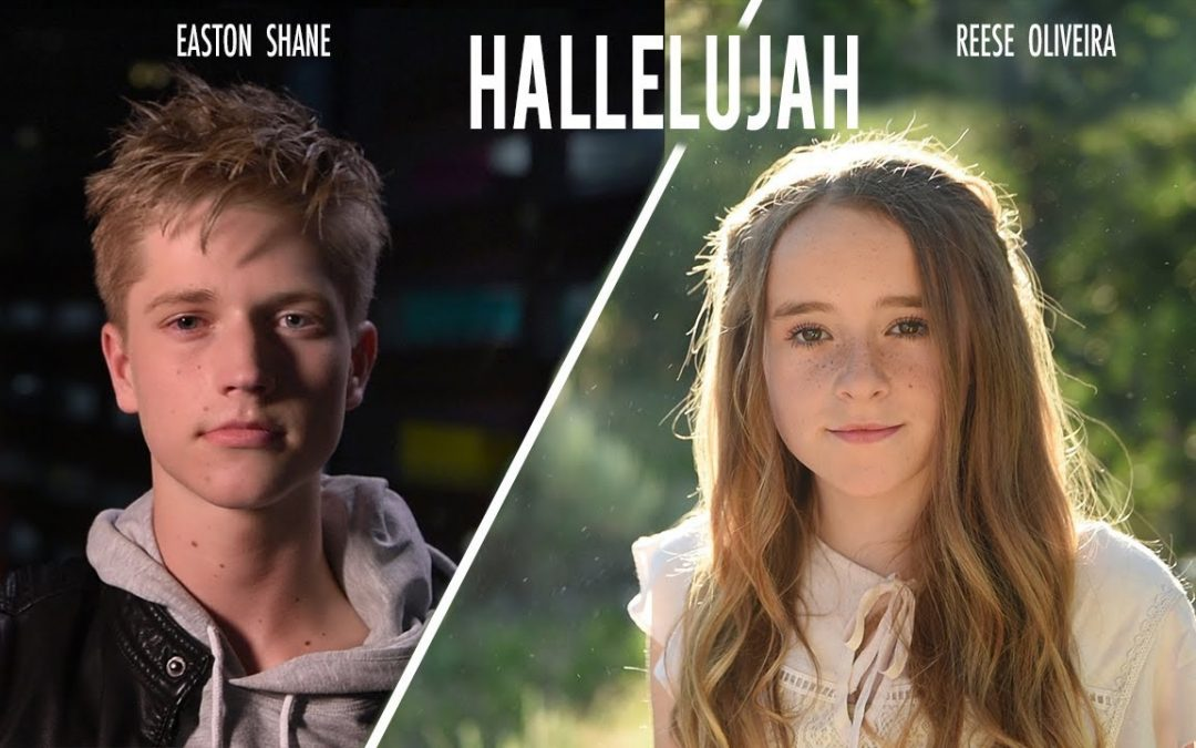 "Two Gifted Teens – Reese Oliveira and Easton Shane – Release Magnificent Cover of ""Hallelujah"""