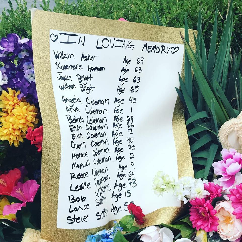 Memorial for 19 July 2018 Branson Duck Boat Tragedy