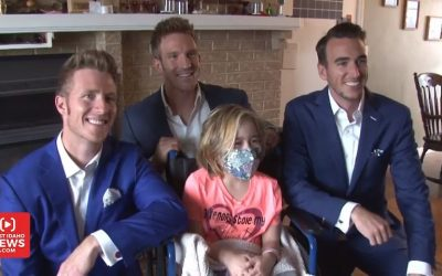 Music in the Key of Life – GENTRI Surprises Seriously Ill Girl at Home and Sings a Special Song