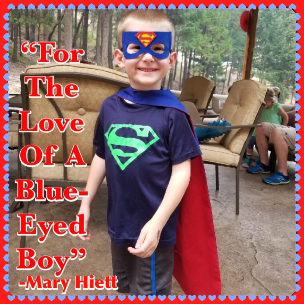 For the Love of a Blue-Eyed Boy