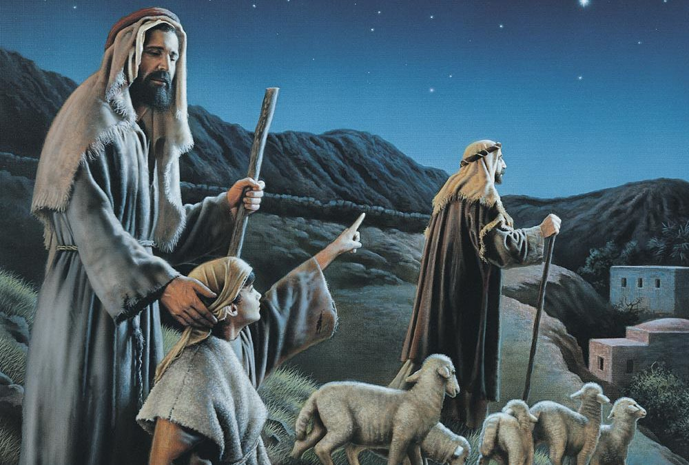 "Mary Hiett Shares the Story and Her Testimony of ""The Night Christmas Was Born"""