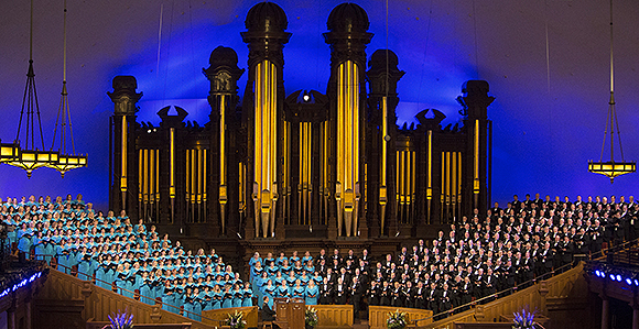 Tabernacle Choir at Temple Square - He is Risen
