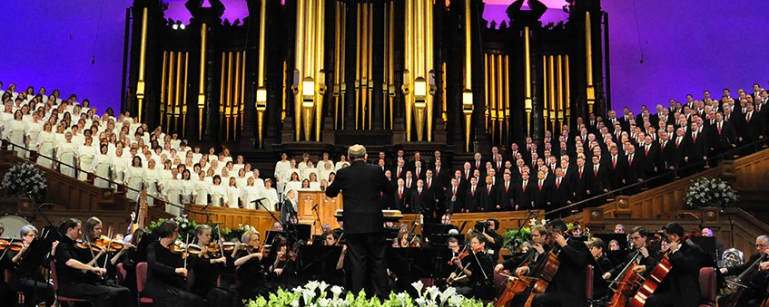 The Tabernacle Choir at Temple Square Presents a Special Easter Service