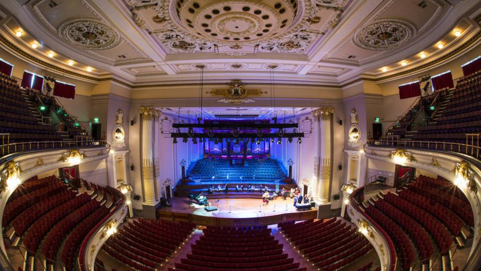 Usher Hall in Edinburgh Scotland