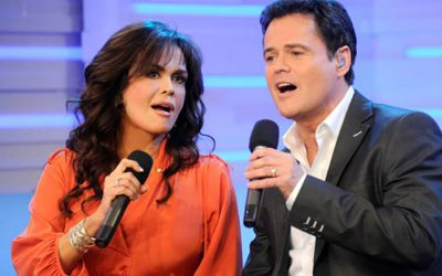 Donny and Marie Osmond to be Honored by Las Vegas Walk of Stars