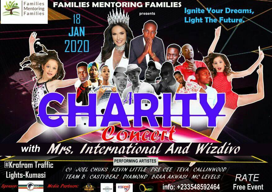 Wizdivo to Host Large Charity Concert Featuring Mrs. International 2019