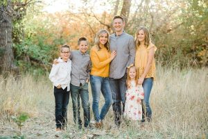 Mat and Brooke Shaw Family