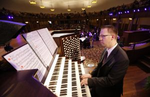 Brian Mathias - Tabernacle Organist