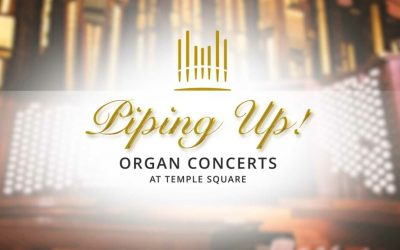 Organ Concerts on Temple Square in Salt Lake City Utah Will be Streamed Live