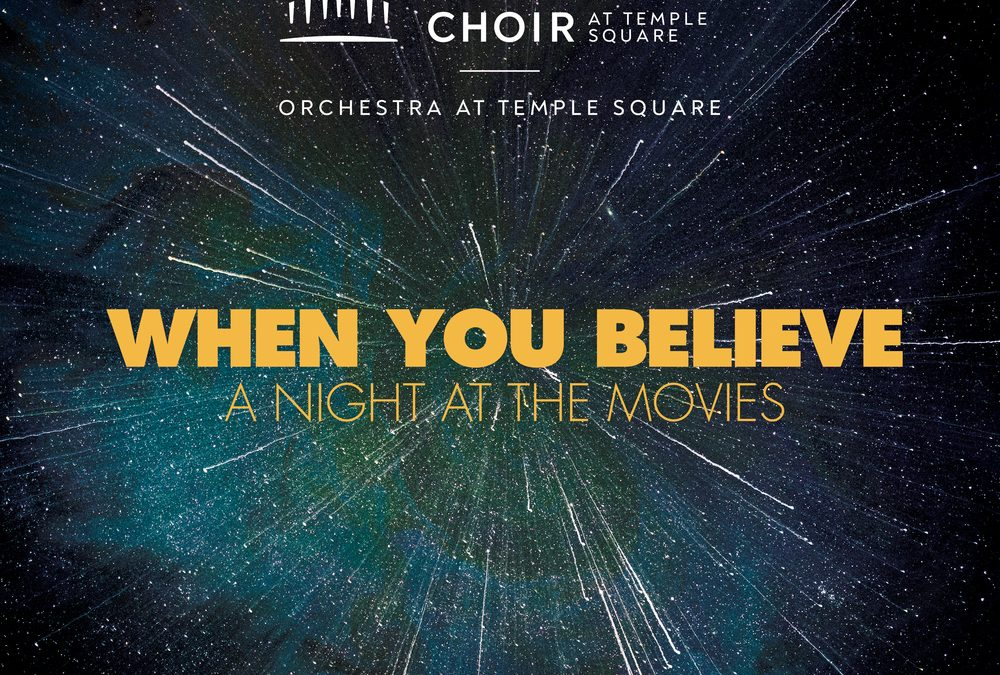 "The Tabernacle Choir's New Album, ""When You Believe,"" Ranks No. 1 on Billboard Charts"