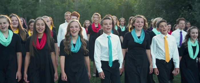 From a Distance David Archuleta and the Rexburg Children's Choir Created an Awe-Inspiring Music Video