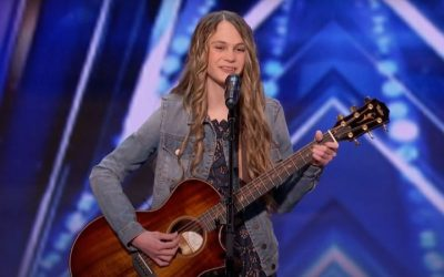 "15-Year-Old Latter-day Saint Country Singer, Kenadi Dodds, Performs on the ""America's Got Talent"" Stage"