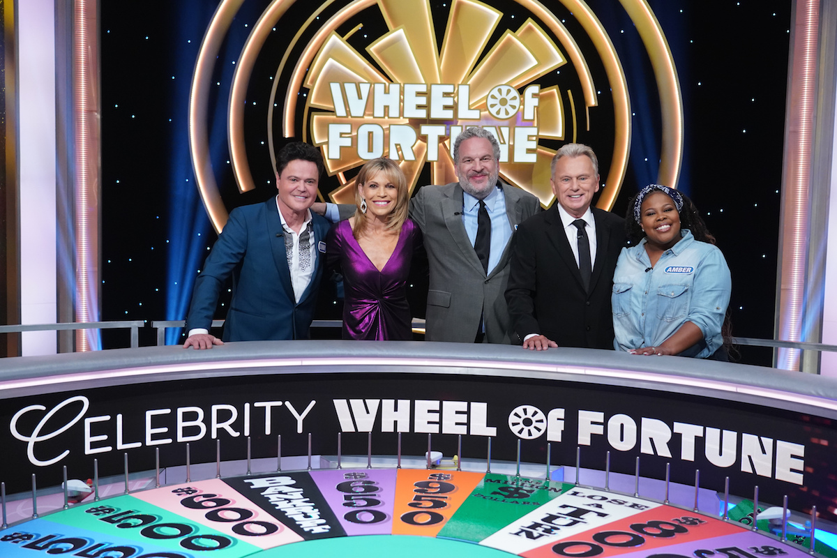 Donny Osmond Competes for Charity on Wheel of Fortune